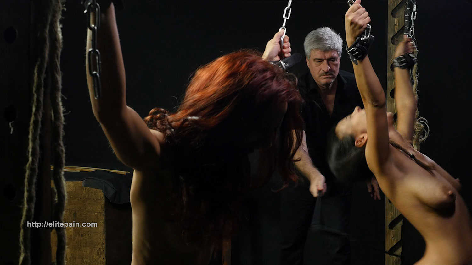 Merciless electro torture of chubby nimue allen in crying - 3 part 10